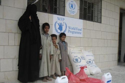 Yemen family - WFP