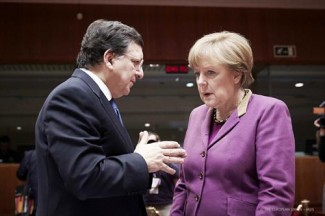 Barroso-Merkel - EU