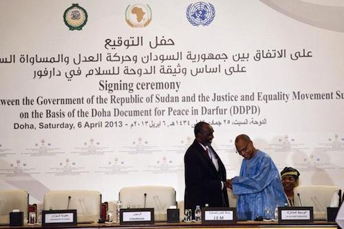 Darfur peace - UNAMID