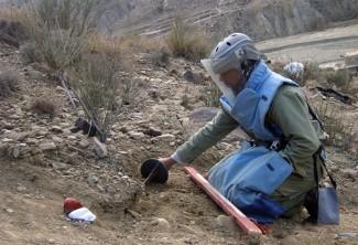 Land mines - UNMACA