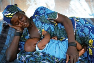 Mother and child - UNICEF