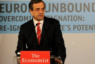Samaras Economist conf - ND Fb