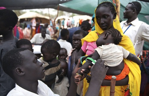 Sudan refugee mothers - IRIN