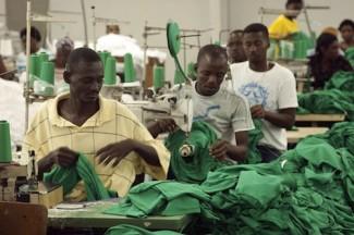 Workers Port au Prince - UN