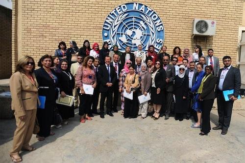 Iraqi journalist - UNAMI