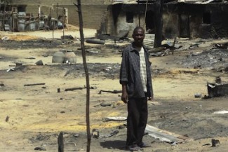 Nigeria man destroyed home - IRIN