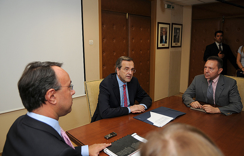 Samaras and FinMin heads - ND Flickr