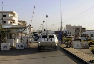 UNDOF base in Golan Heights - UNDOF
