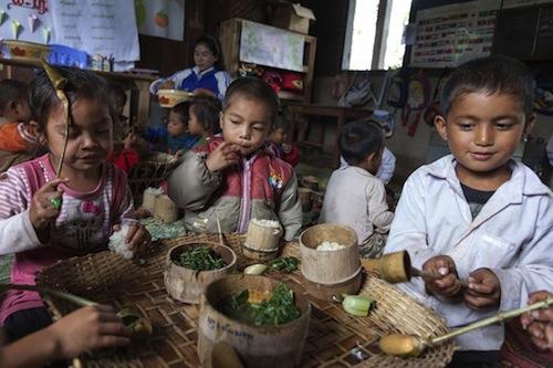 Children Laos - World Bank