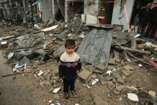 Gaza Palestinian boy - UN archive