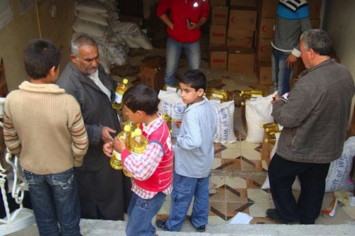 Syrian families - WFP