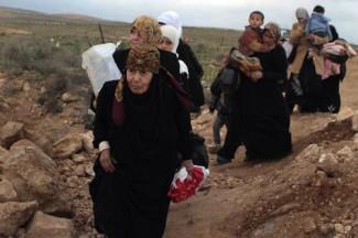 Syrian refugee women - UNHCR