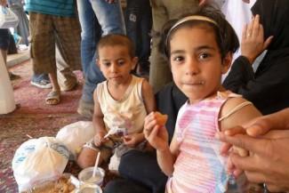 Children Syria Refugees - source UN