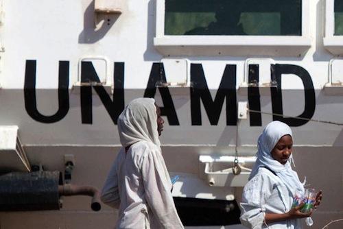Darfur Unamid = UNAMID