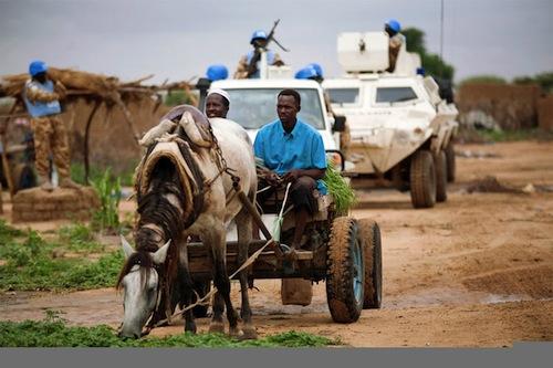 Darfur peacekeepers - UNAMID