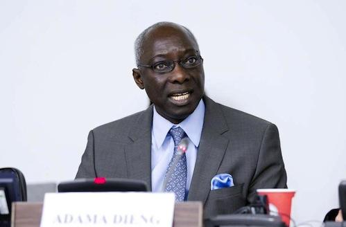 Dieng Adama UN Adviser - UN