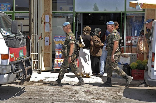 Lebanon peacekeepers - UNIFIL