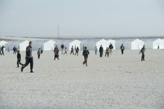 Views of the Zaatri Refugee Camp