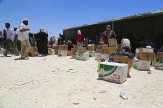 Syria Jordan Zaatari refugee camp - WFP