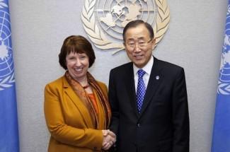 Ban- Ashton - UN