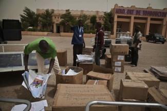 Eections Mali - MINUSMA