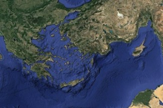 Greece Cyprus - Google Earth
