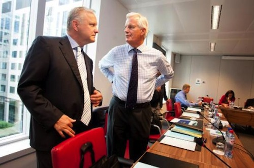 Rehn and Barnier - EC