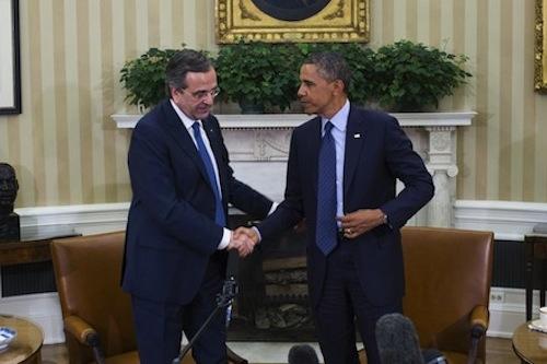 Samaras-Obama