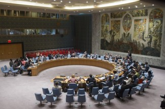 Security Council Meeting on The situation in Liberia.