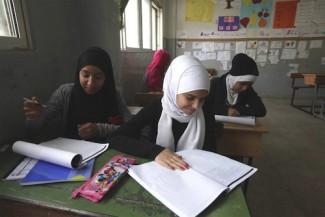 Syria Palestinian refugees-UNWRA