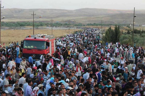 Syria refugees - UNHCR