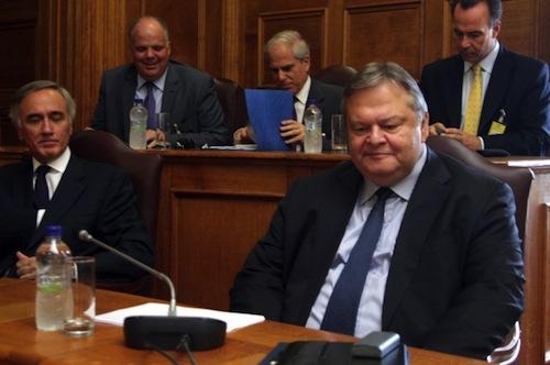 Venizelos briefs Parliament - evenizelos.gr