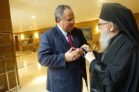 Kotzias Archbishop Demetrios of America alyunaniya
